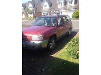 03 Subaru Forester Px/swap or sale