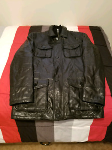 Danier Men's Medium Leather Insulated Jacket