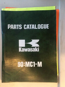 1974 Kawasaki 90:MC1-M A Parts Catalogue