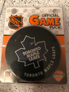 Official Toronto Maple Leafs NHL Game Puck - Ron Ellis #6