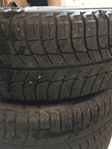 15 inch Michelin X Ice Civic rims and tires St. John's Newfoundland image 2