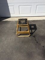 Fly Racing dirt bike solid stand.