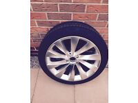 Alloy wheel for vw sirrocco