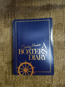 A Boaters Diary Book