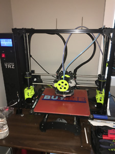 Lulzbot Taz 6 3D Printer and Dual Extruder Tool Head