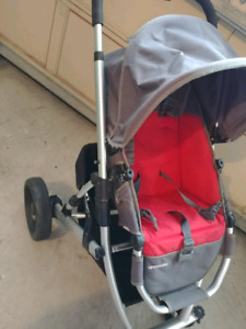UPPABABY VISTA 2007 stroller and bassinet