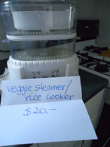 Oster food steamer/rice cooker, 2 levels