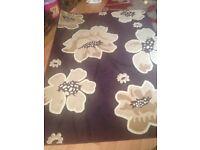 Beautiful Purple rug for sale