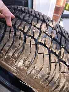 All Season Tires 275/55/20 Michelin's  Kitchener / Waterloo Kitchener Area image 1