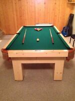 4x8 Wolf Pool Table $1200 OBO