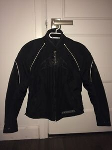 Manteau, chaps pantalon de pluie et botte de moto pour Femmes