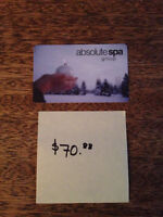 Absolute Spa Gift Card