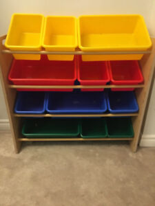 Toy storage and organiser $25