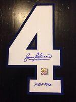 ***Jean Beliveau Signed Number 4***