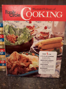 "Family Circle - Set of 16 ""real"" Cookbooks LIKE NEW"