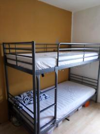 Ikea SVÄRTA bunk bed 90x200