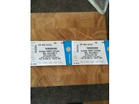 2 X Noel Gallagher bellahouston park VIP tickets