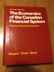 The Economics of the Canadian Financial System, Sec. Ed.