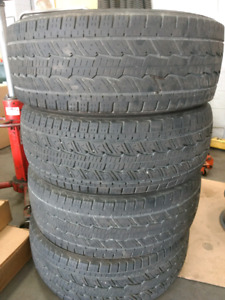 For sale 4 all season tires