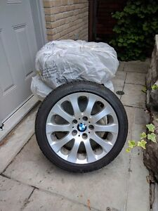 Used Set of 4 x 24`` BWM Tires With Rims