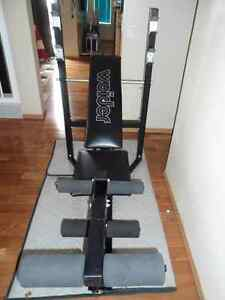 BENCH PRESS WITH 210LB WEIGHTS