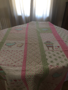Girls Twin Quilt, Pictures, and Ikea Princess Mosquito Netting