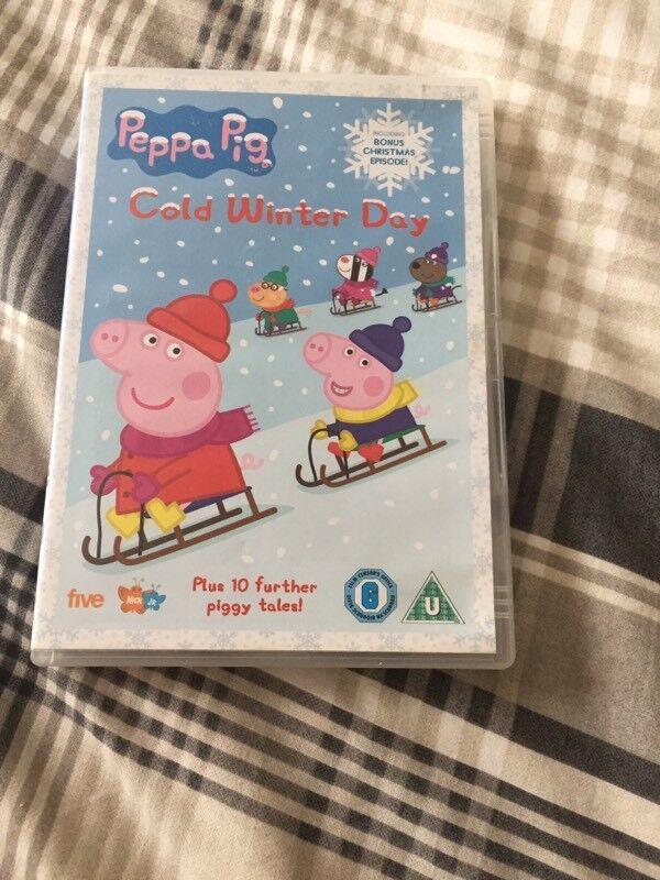 Peppa Pig Cold Winter Day DVD
