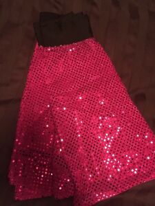Sparkle light running skirts
