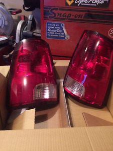 Taillights Covers and Cab Mounted Brake Light