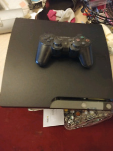 EUC PLAYSTATION 3 WITH REMOTE