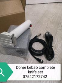 Brand new Doner kebab knife set free delivery
