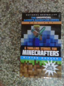 Minecrafters 6 pk Book Set