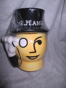 New Mr. Peanut Planters Collectible Cookie Jar