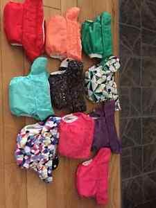 Lot de 31 couches lavables + accessoires