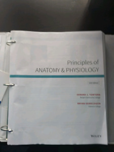 Looseleaf Principles of Anatomy and Physiology Textbook