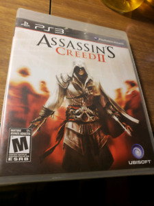 ASSASSINS CREED 2 PS3 SEALED