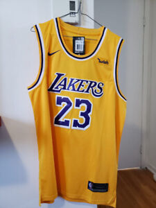 Jersey Basketball, Lakers de Los Angeles, James 23, Neuf