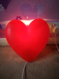 Ikea heart light in M41 Trafford for £3