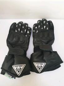 Ladies Frank Thomas Motorcycle gloves.