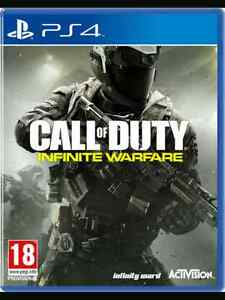 Call of Duty Infinite Warfare PS4  Flambant neuf et scellé