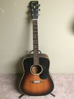 1983 K. Yairi Acoustic Guitar