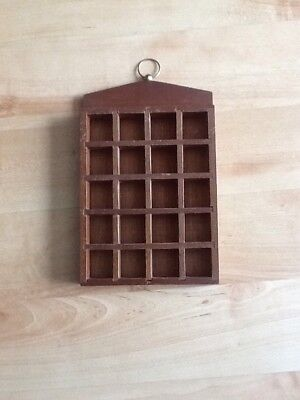 Thimble Display Case