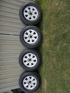 P255/70/18 inch Michelin Truck Tires / Ford F150 Rims / Sensors