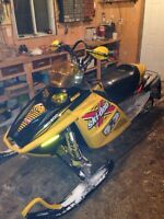 Trade ski doo plus cash for car!