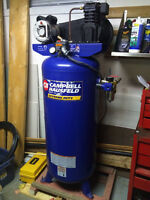 """NEW PRICE"" 7 HP/60 Gallon Air Compressor and Air Tools For Sale"