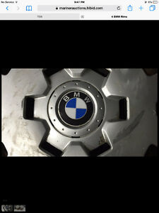 BMW Steel rims and hubcaps