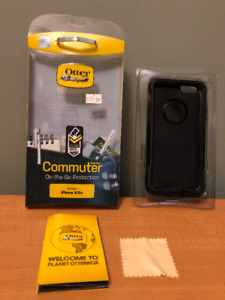 Black Otter Box iPhone Case Commuter Series for iPhone 6/6s