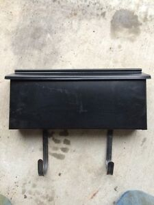 Black mailbox in good condition