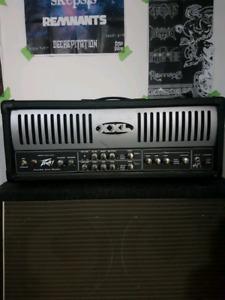 PEAVEY XXL guitar head and handbuilt 4x12 cabinet