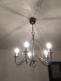 Ikea chandelier light fitting
